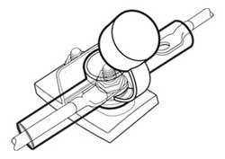 Dual Entry Battery Terminal / PowerPost Insulator