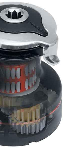 Harken Aluminium Radial® Self-Tailing Winch