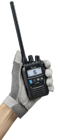 Icom IC-M85E VHF/PBR Portátil Profesional Híbrido