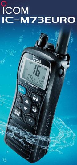 Icom IC-M73 Euro Plus Handheld VHF
