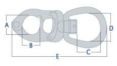 Tylaska Snap Shackle Dimensions