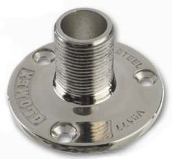 Glomex V9177 Stainless Steel Universal Mount - bluemarinestore.com