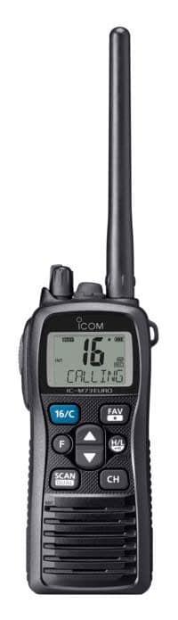 Icom IC-M73 Euro y  IC-M73 Euro Plus Handheld VHF - bluemarinestore.com