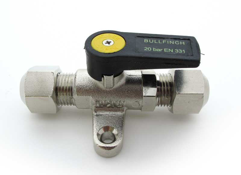 Bullfinch Mini Gas / Diesel Ball Valve - bluemarinestore.com