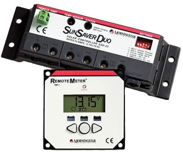 Morningstar Sunsaver Duo Solar Regulator - bluemarinestore.com
