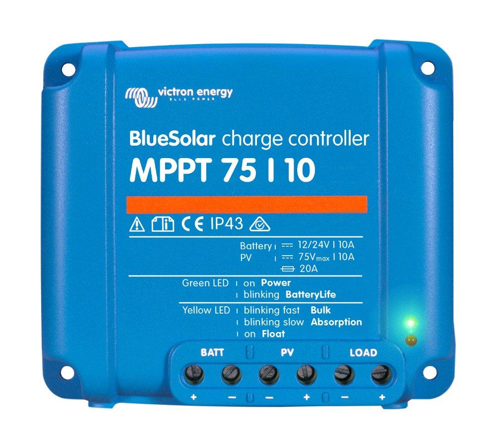 Victron Energy Blue Solar Mppt 75 Series Solar Regulators