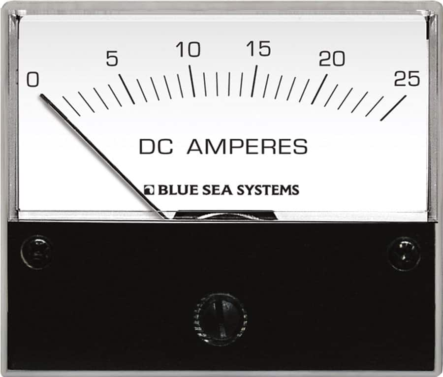 Blue Sea Systems DC Analog Ammeters - bluemarinestore.com