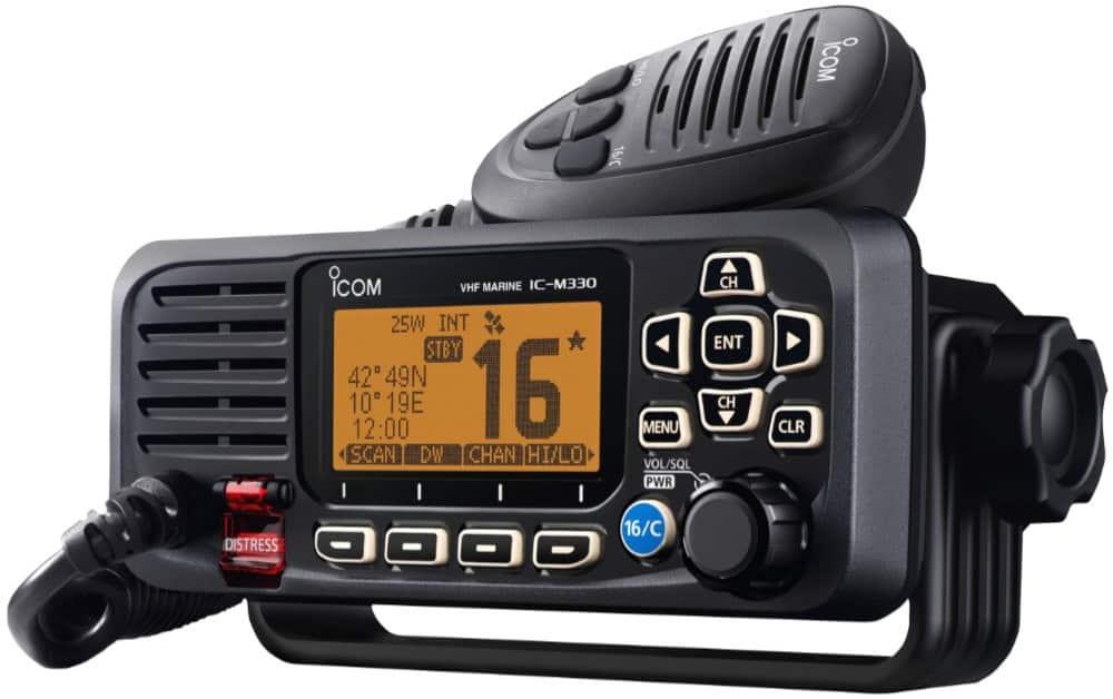 Icom IC-M330GE Waterproof VHF + DSC - bluemarinestore.com