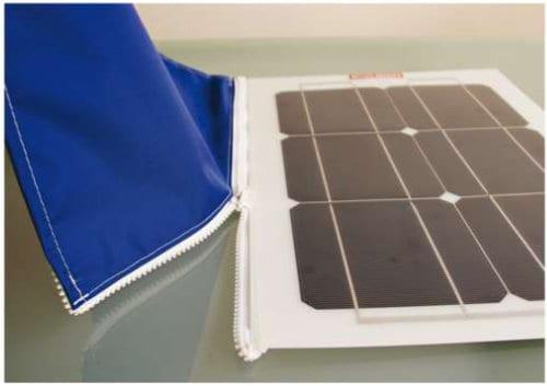 Solbian Flexible Marine Solar Panel Zippers x 2