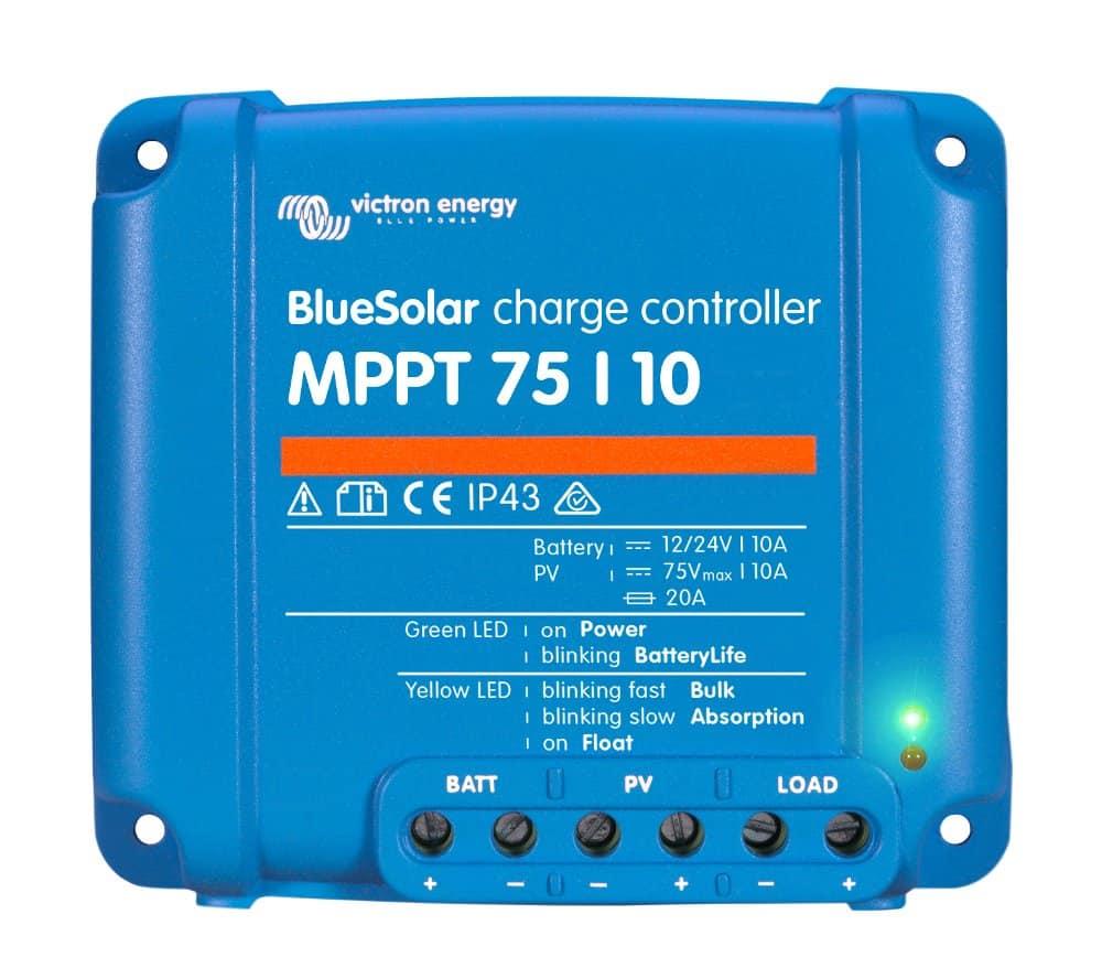 Victron Energy BlueSolar MPPT 75 Series Solar Regulators - bluemarinestore.com