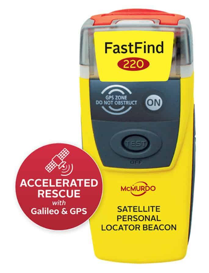 McMurdo FastFind 220 GPS PLB - bluemarinestore.com