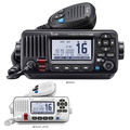Icom IC-M423G Fixed Waterproof VHF with GPS, DSC, Horn and Hailer