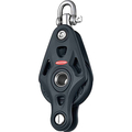 Ronstan Core Block - Single Swivel Block with Becket - 60mm