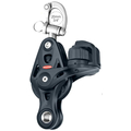 Ronstan Core Block - Single Trunnion Snap Shackle Block with Fiddle & Cam - 60mm