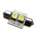 Bombilla 2 LED Fusible (Festoon ) de Lunasea