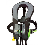 Plastimo SL180 Pro Sensor Lifejacket with Harness - Grey / Black