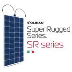 Solbian SR Super Rugged Paneles Solares Marinos Flexibles - bluemarinestore.com