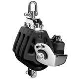 Lewmar Triple Synchro Block with Becket and Cam - bluemarinestore.com