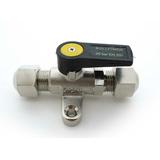 Valvula de Bola Miniatura Bullfinch para Gas y Diesel