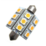 Lunasea 9 LED 42mm Festoon Bulb