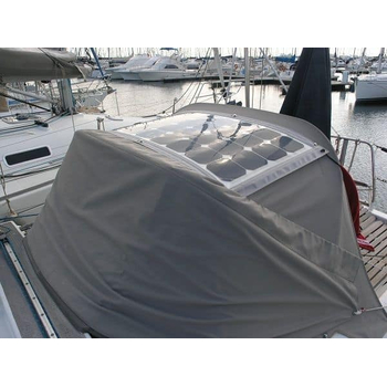 Solbian Sun Power Bimini Installation