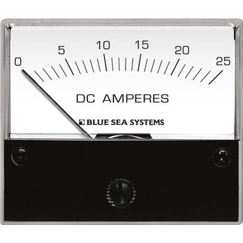 Amperímetro Analógico CC Blue Sea Systems, Modelo: 25 A
