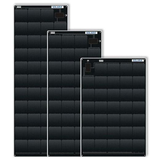 Solara Power M Series Semi Flexible Marine Solar Panels
